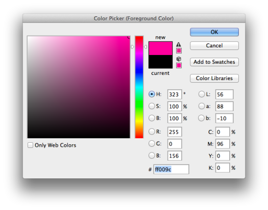 Photoshop Color Picker - Sampling Colors for Plasma Energy Cell Replica